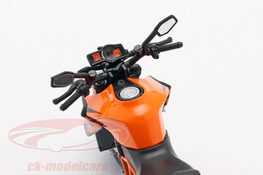 KTM 1290 Super Duke R oranje / wit / zwart 1:12 Maisto