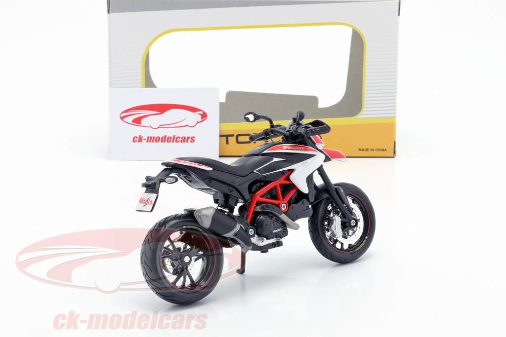 Ducati Hypermotard SP ano de construção 2013 vermelho / branco / preto 1:12 Maisto