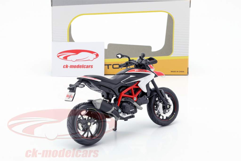 Ducati Hypermotard SP year 2013 red / white / black 1:12 Maisto