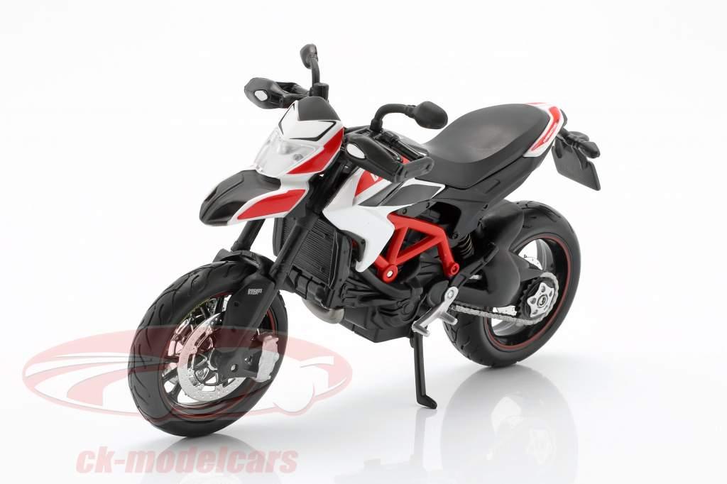 Ducati Hypermotard SP Baujahr 2013 rot / weiß / schwarz 1:12 Maisto