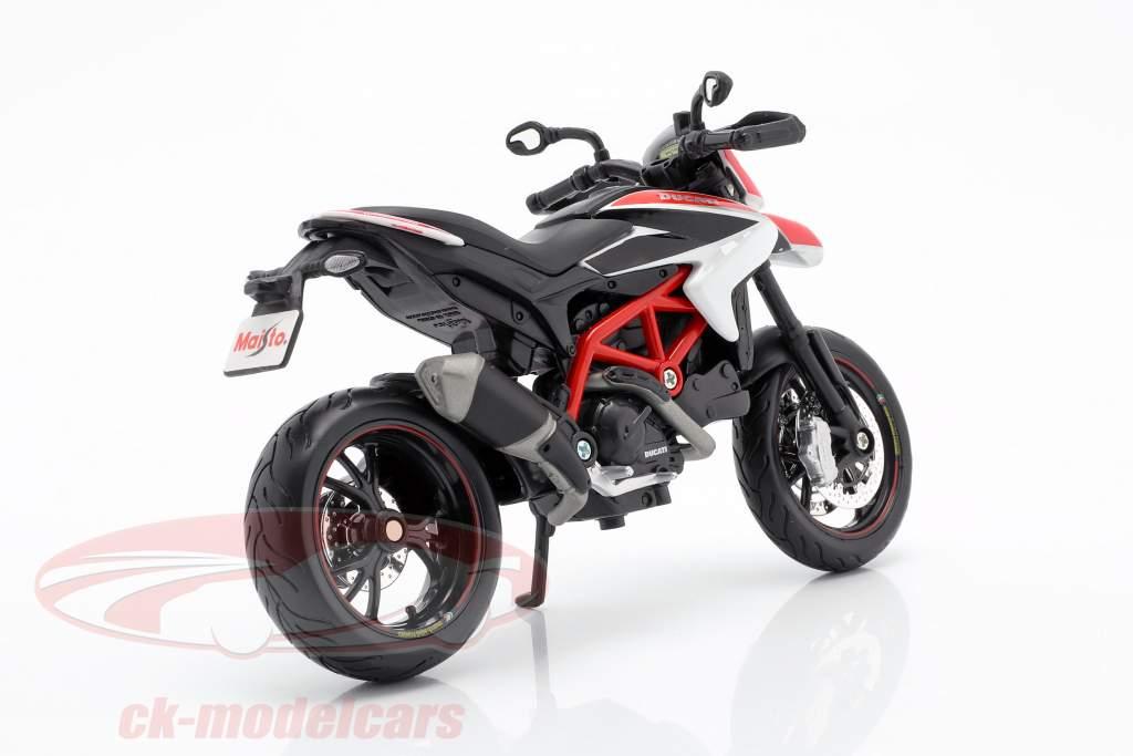 Ducati Hypermotard SP année de construction 2013 rouge / blanc / noir 1:12 Maisto