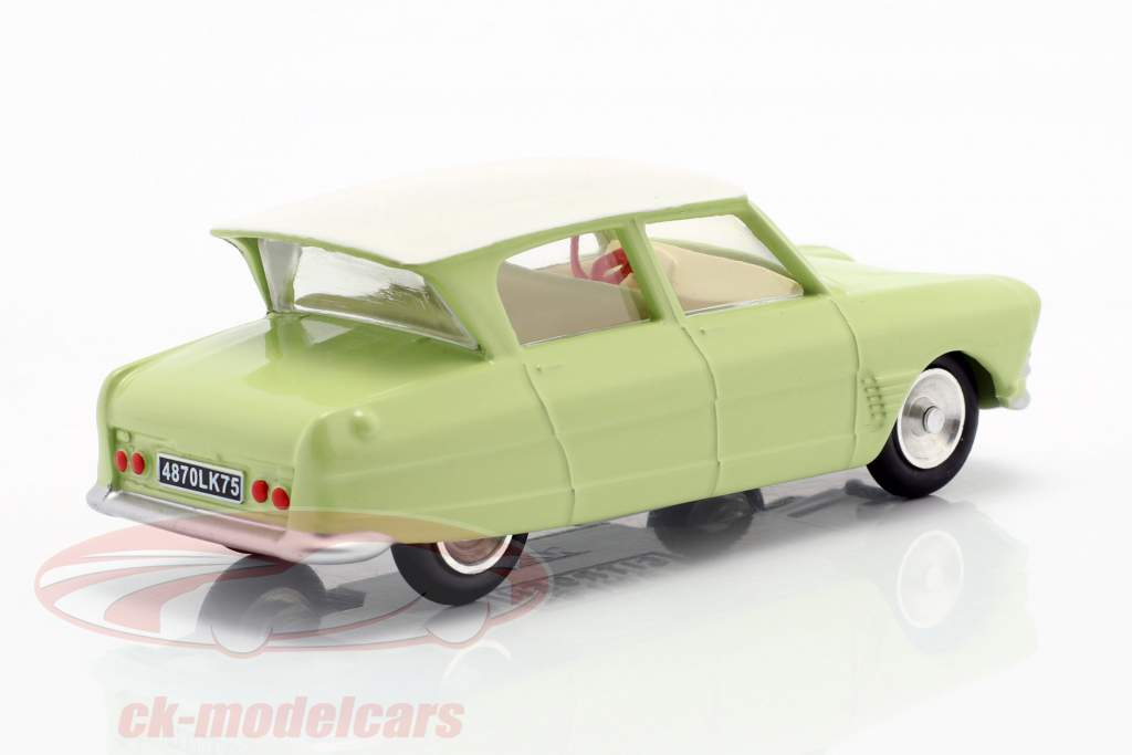 Citroen Ami 6 Berline year 1961 light green 1:43 Solido
