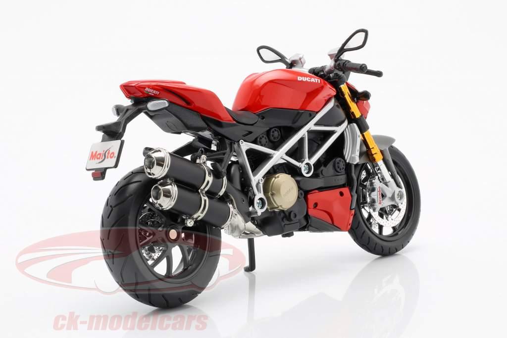 Ducati mod. Streetfighter S rosso / nero 1:12 Maisto