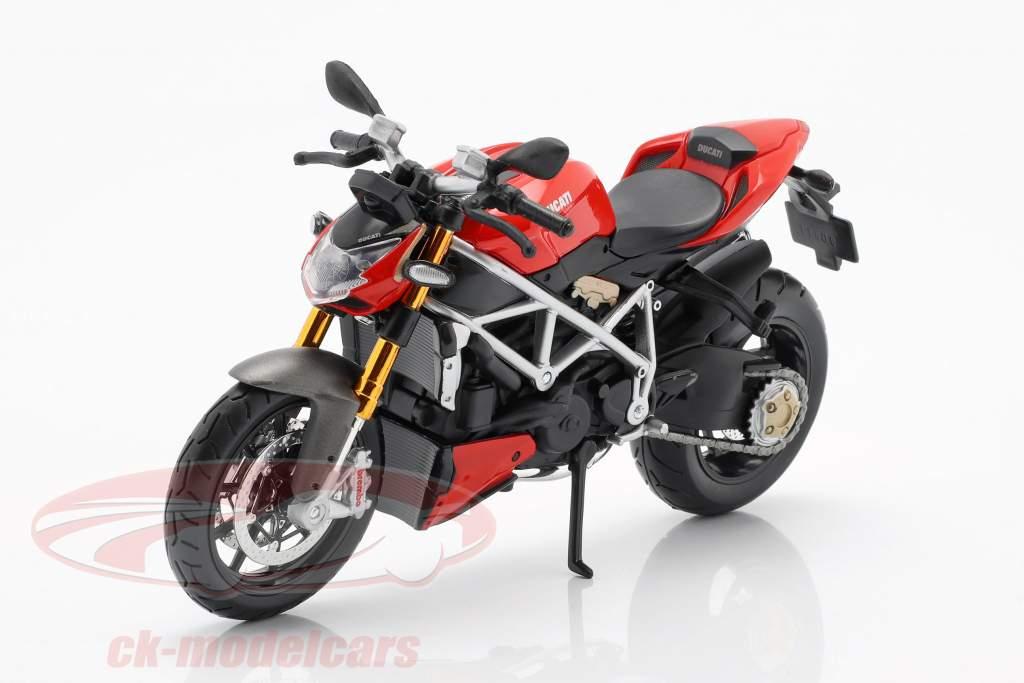 Ducati mod. Streetfighter S vermelho / preto 1:12 Maisto