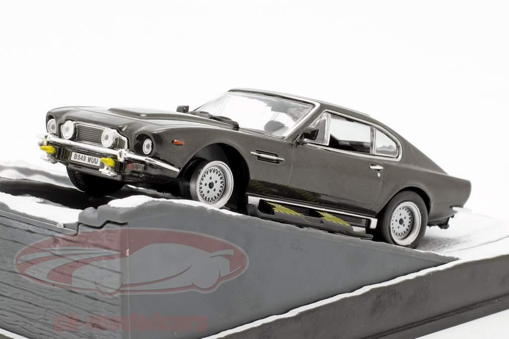 Aston Martin V8 Vantage James Bond Car Movie del Living Daylights 1:43 Ixo