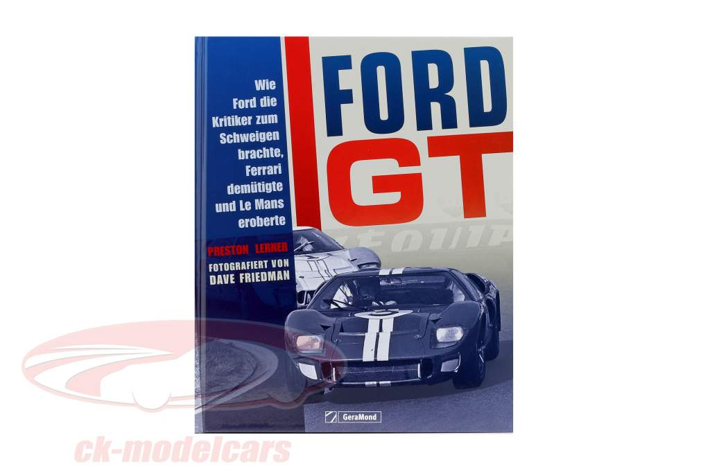 libro: Ford GT / por Preston Lerner y Dave Friedman