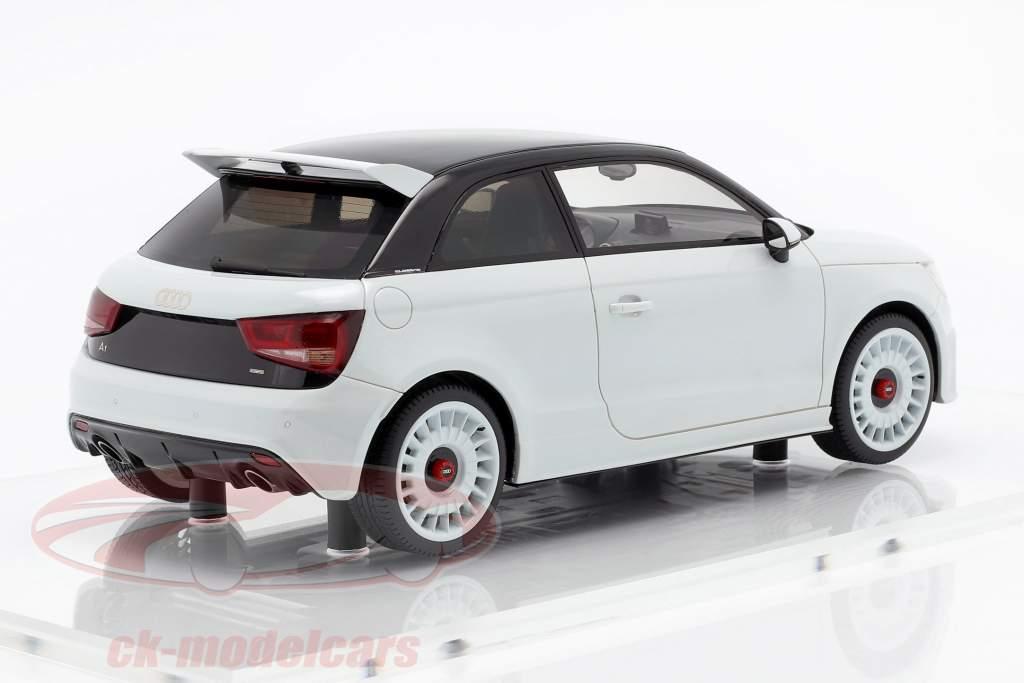 Audi A1 quattro Baujahr 2012 weiß metallic 1:18 DNA Collectibles
