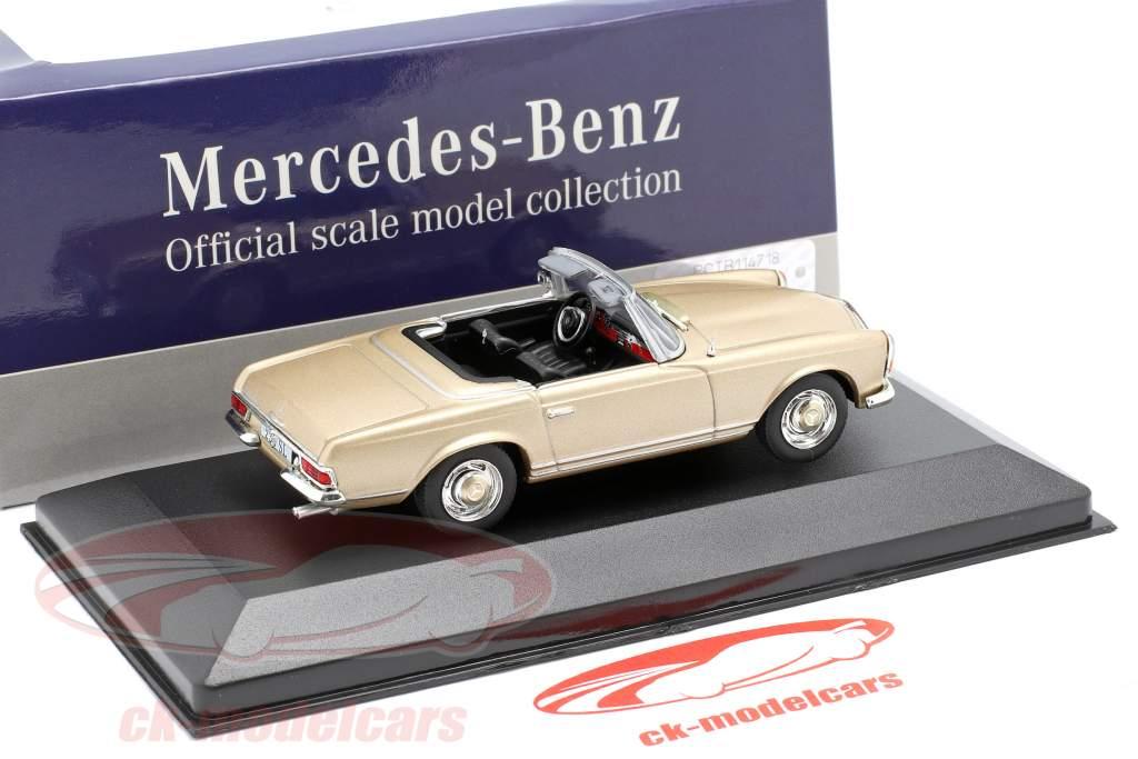 Mercedes-Benz 230 SL (W113) année de construction 1963 or 1:43 Atlas