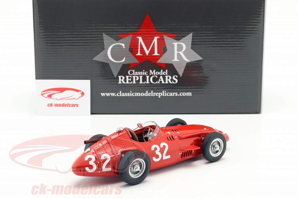 J. M. Fangio Maserati 250F #32 winnaar Monaco GP wereldkampioen F1 1957 1:18 CMR