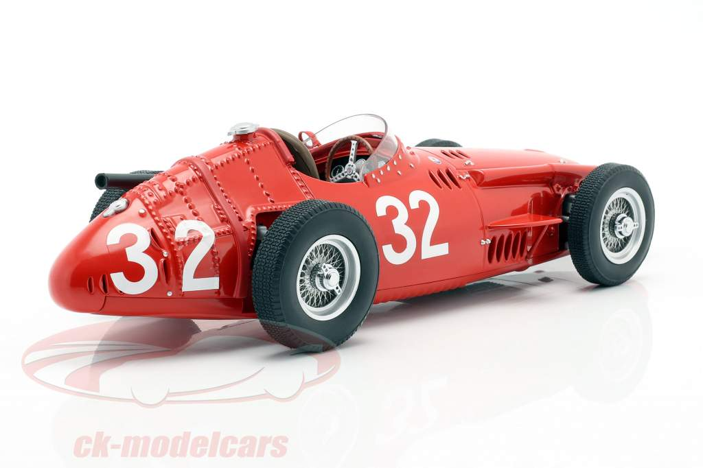 J. M. Fangio Maserati 250F #32 ganador Monaco GP campeón del mundo F1 1957 1:18 CMR