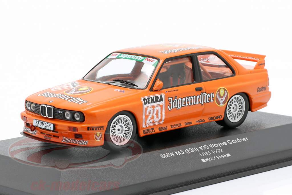 BMW M3 (E30) Sport Evolution #20 DTM 1992 Wayne Gardner 1:43 CMR
