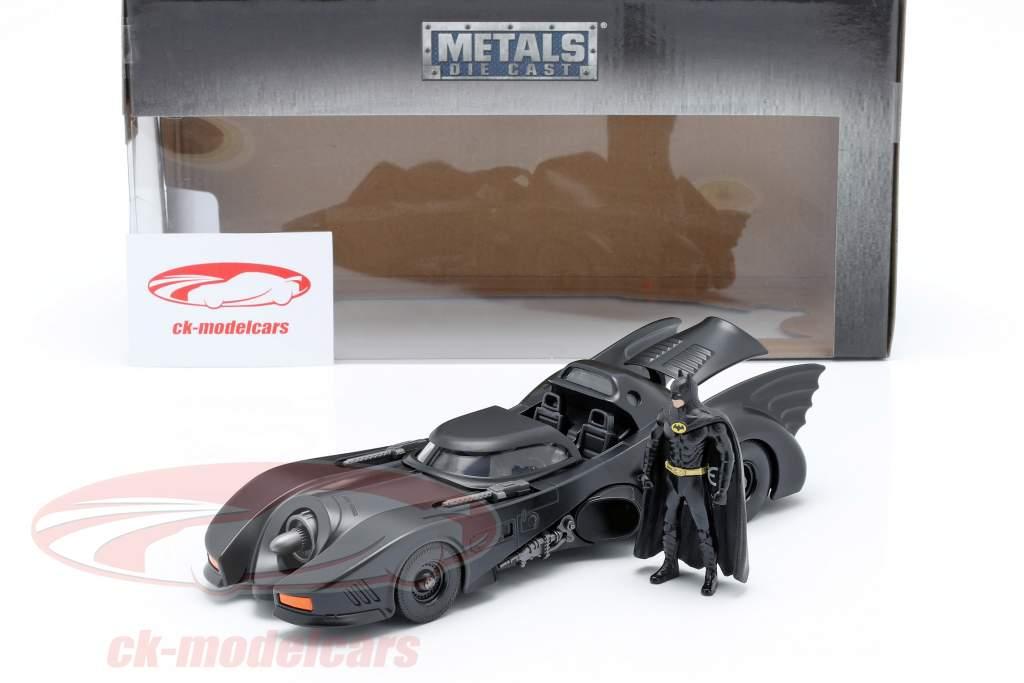 Batmobile avec Batman figure film Batman 1989 1:24 Jada Toys