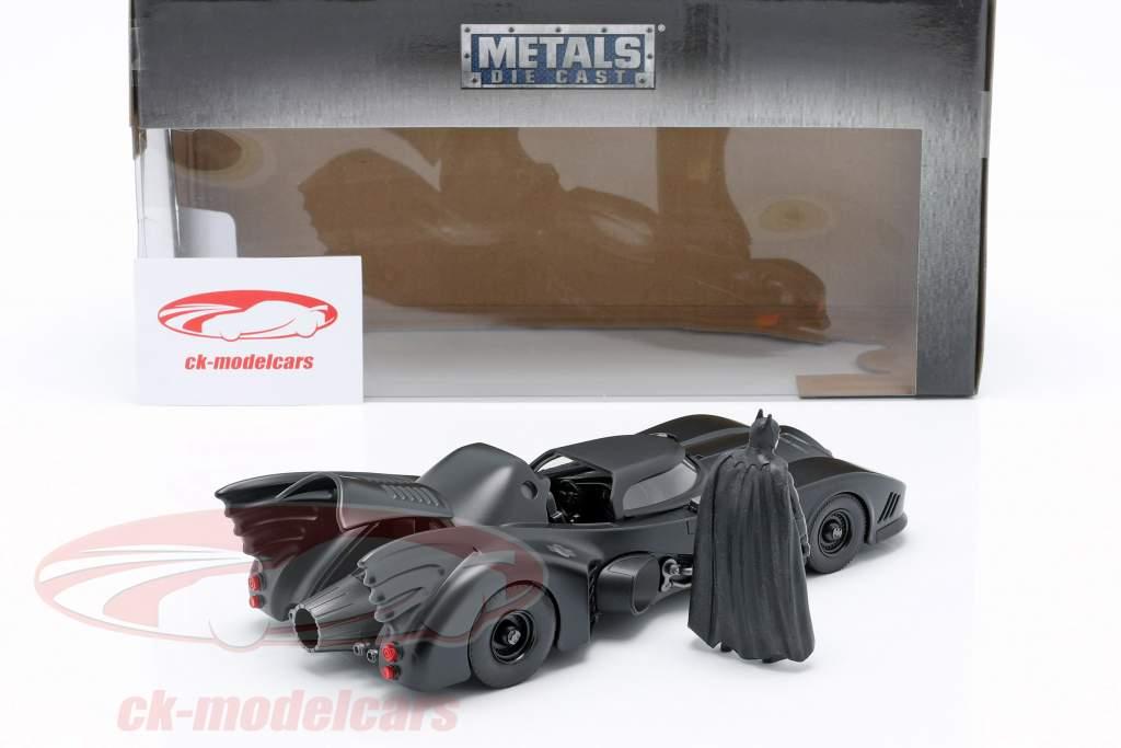 Batmobile with Batman figure Movie Batman 1989 1:24 Jada Toys