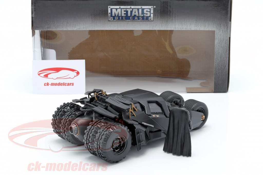Batmobile avec Batman figure film The Dark Knight 2008 1:24 Jada Toys