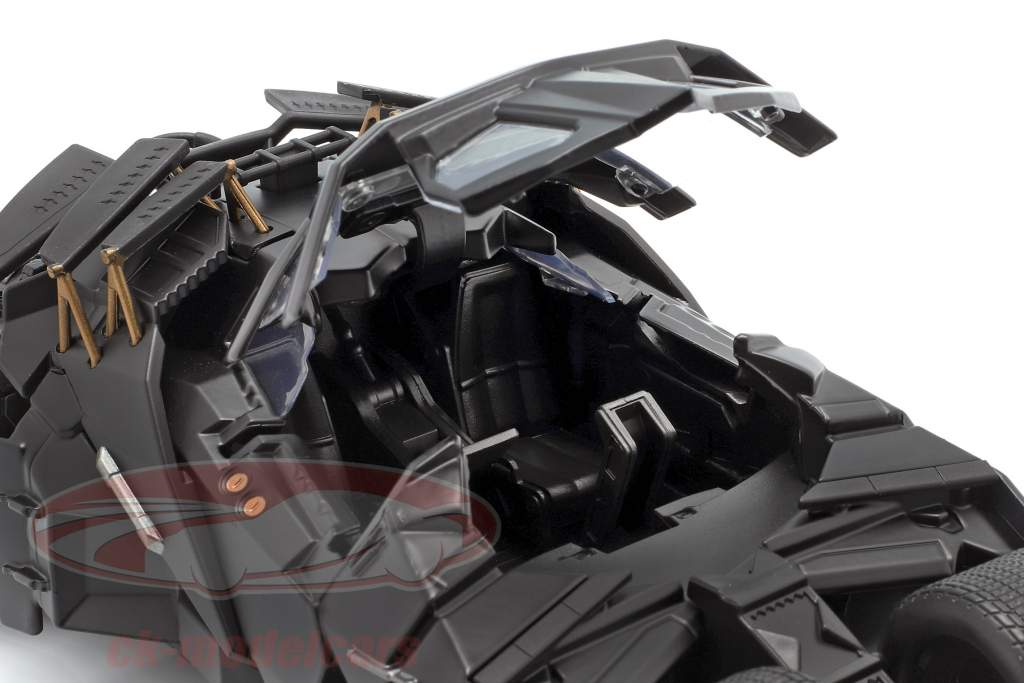 Batmobile med Batman figur film The Dark Knight 2008 1:24 Jada Toys