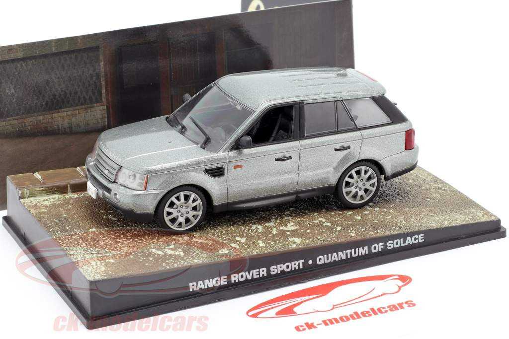 Range Rover Sport Auto James Bond film Quantum of Solace zilver 1:43 Ixo