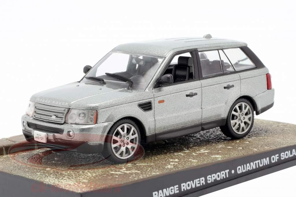 Range Rover Sport Car James Bond Quantum of Solace argent 1:43 Ixo