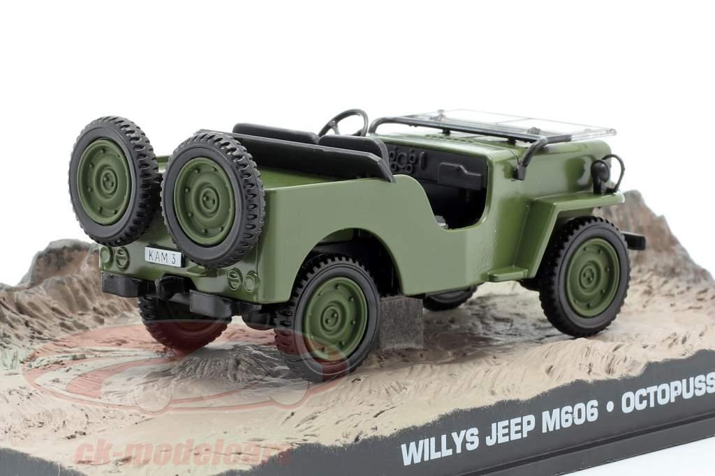 Willys Jeep M606 James Bond Movie Car Octopussy braun 1:43 Ixo