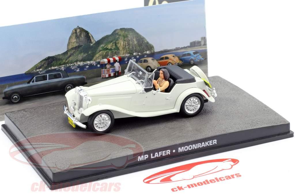 MP Lafer James Bond film Moonraker Auto white 1:43 Ixo