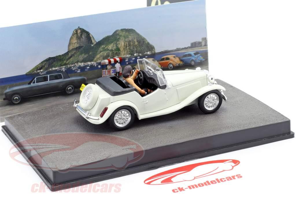 MP Lafer James Bond Movie Car Moonraker white 1:43 Ixo