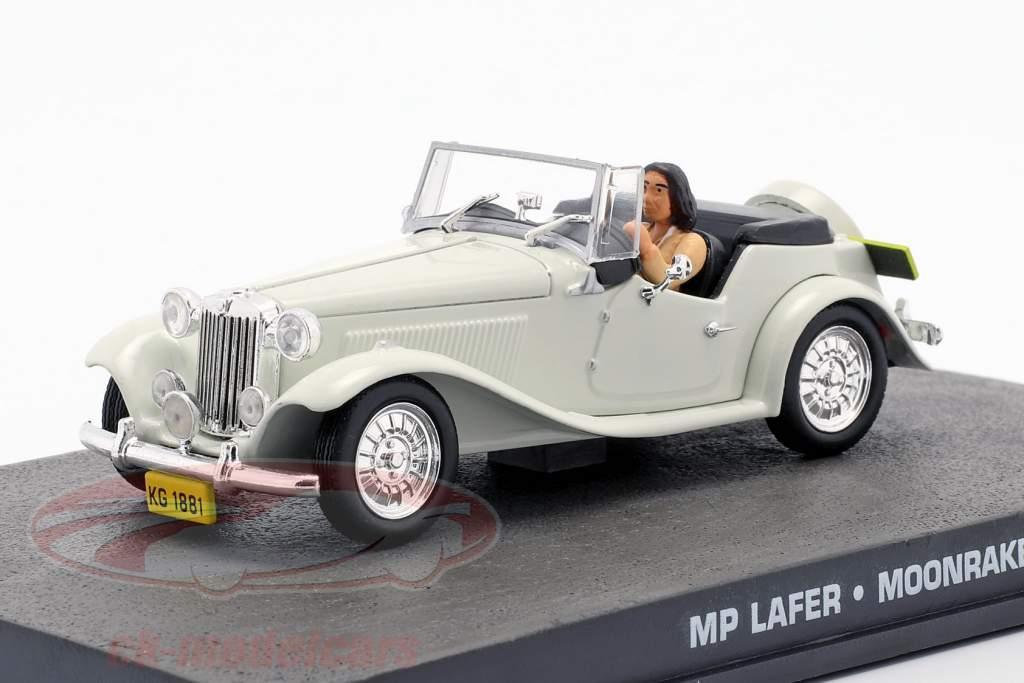MP Lafer James Bond Movie Car Moonraker bianco 1:43 Ixo