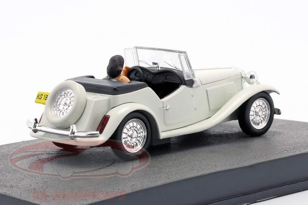 MP Lafer película de James Bond Moonraker coche blanco 1:43 Ixo
