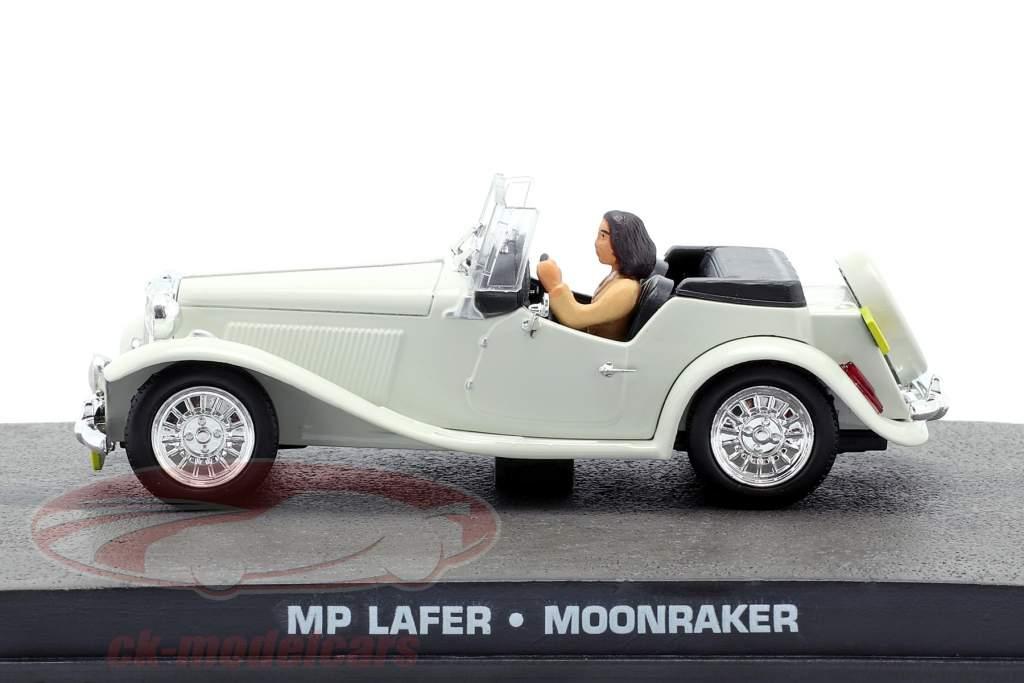 MP Lafer James Bond filme Moonraker carro branco 1:43 Ixo