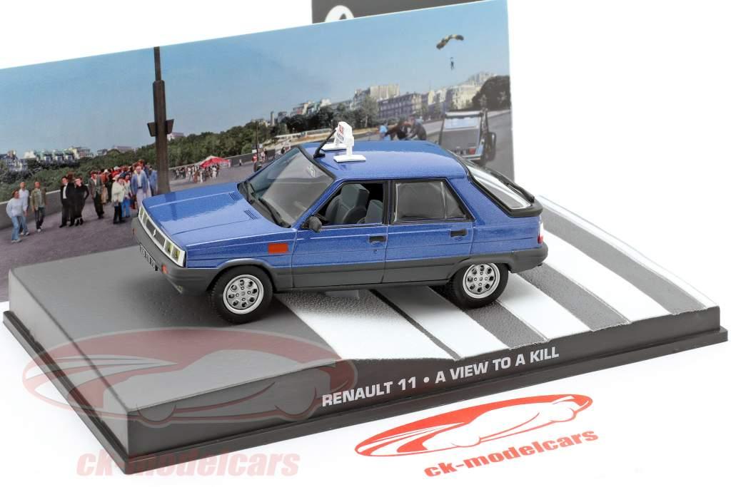 Renault 11 Auto James Bond-film The Living Daylights 1:43 Ixo