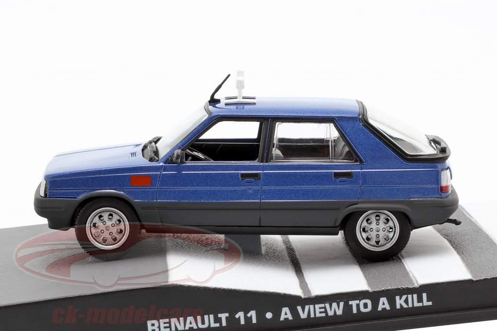 Renault 11 Car James Bond film The Living Daylights 1:43 Ixo