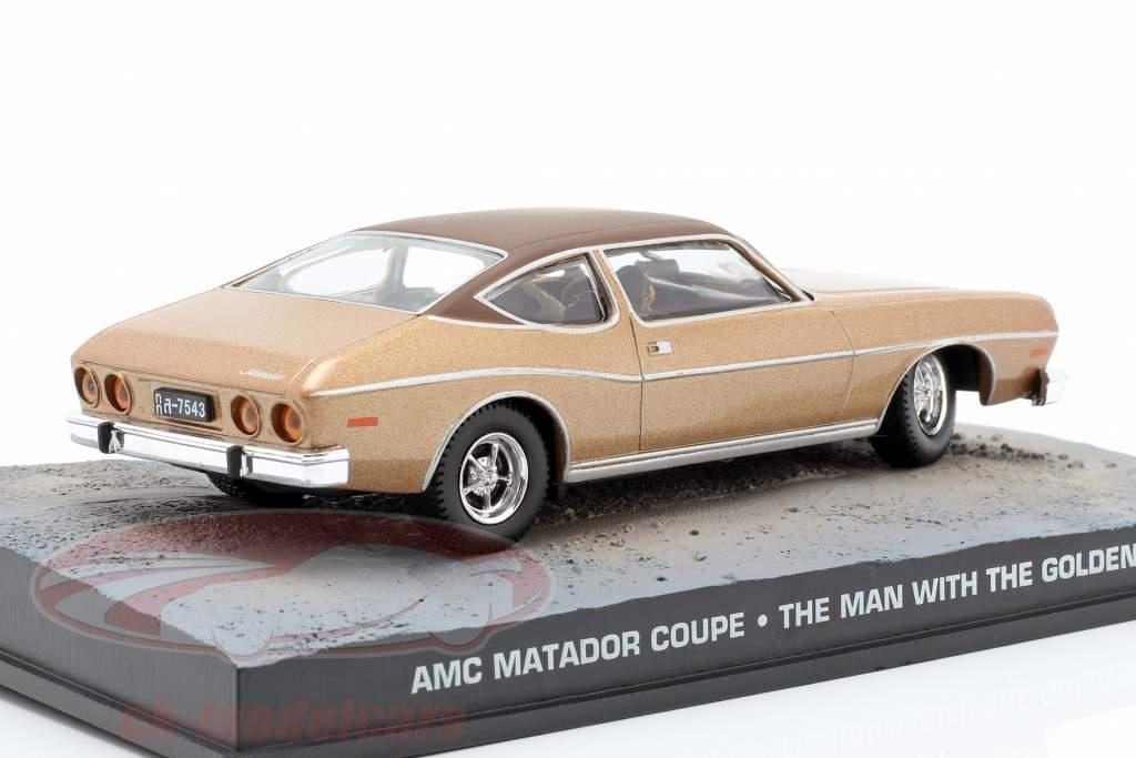 AMC Matador Coupe coches James película de James Bond El hombre de la pistola de oro una y cuarenta y tres Ixo
