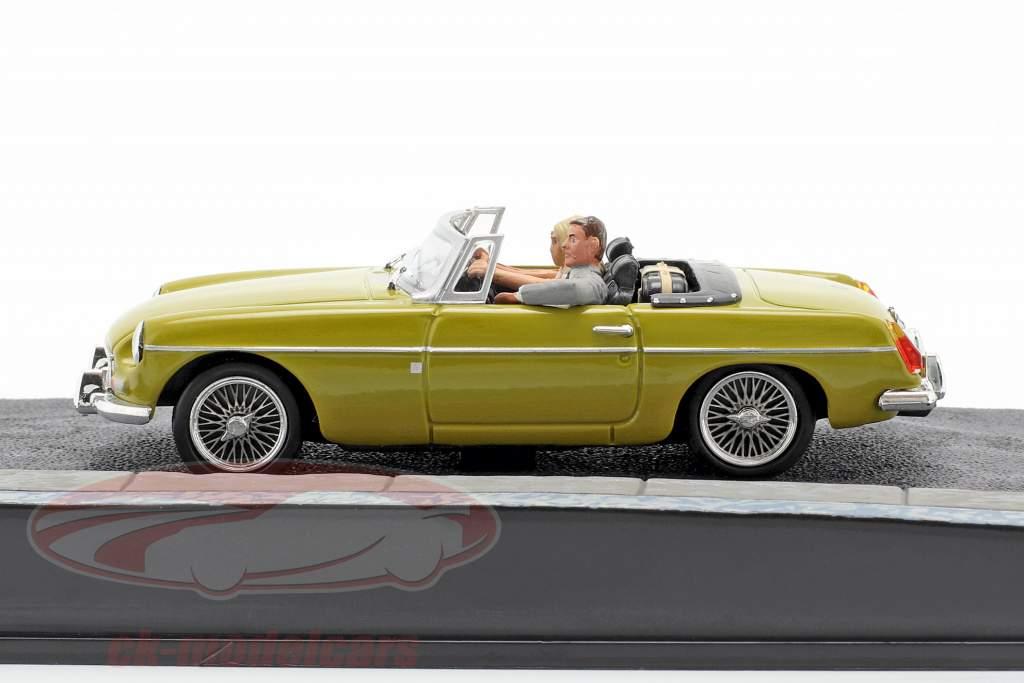 MGB James Bond Movie Car Med tegn The Man with the golden gun (1974) 1:43 Ixo