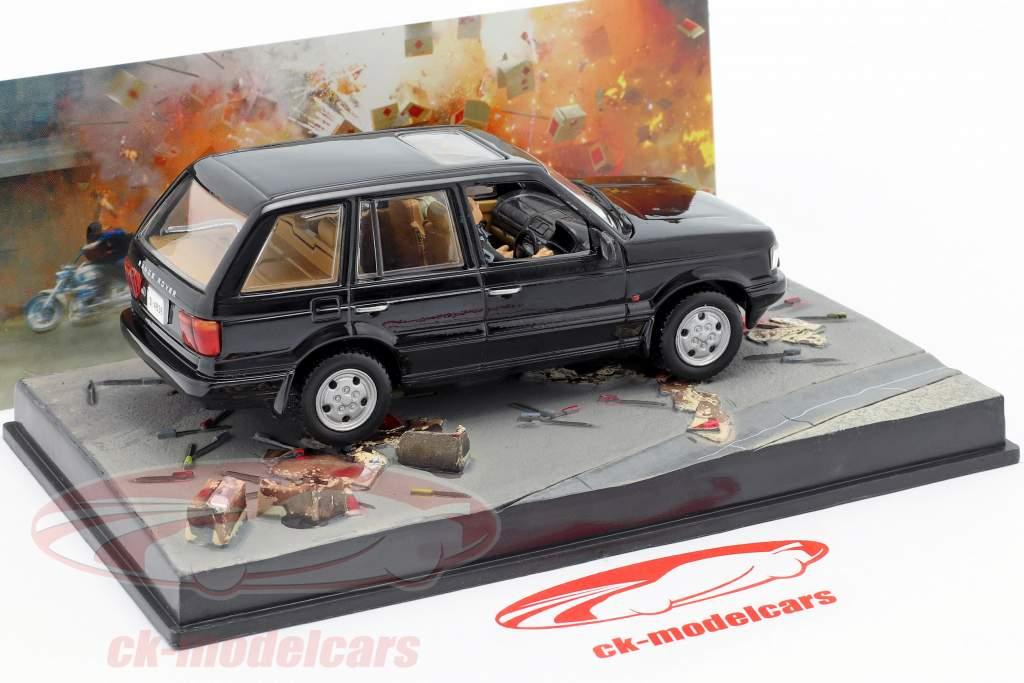 Range Rover James Bond Movie Car Der Morgen stirbt nie schwarz 1:43 Ixo