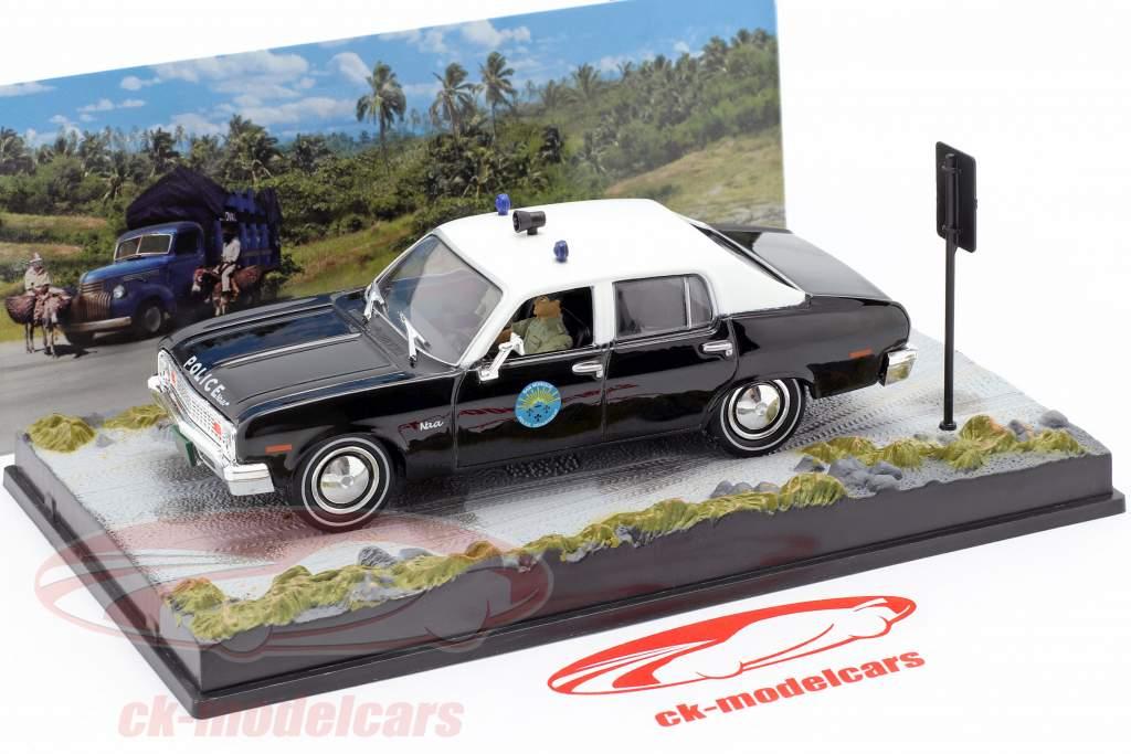 Chevrolet Nova Voiture de police James Bond, Vivre et laisser mourir 1:43 Ixo