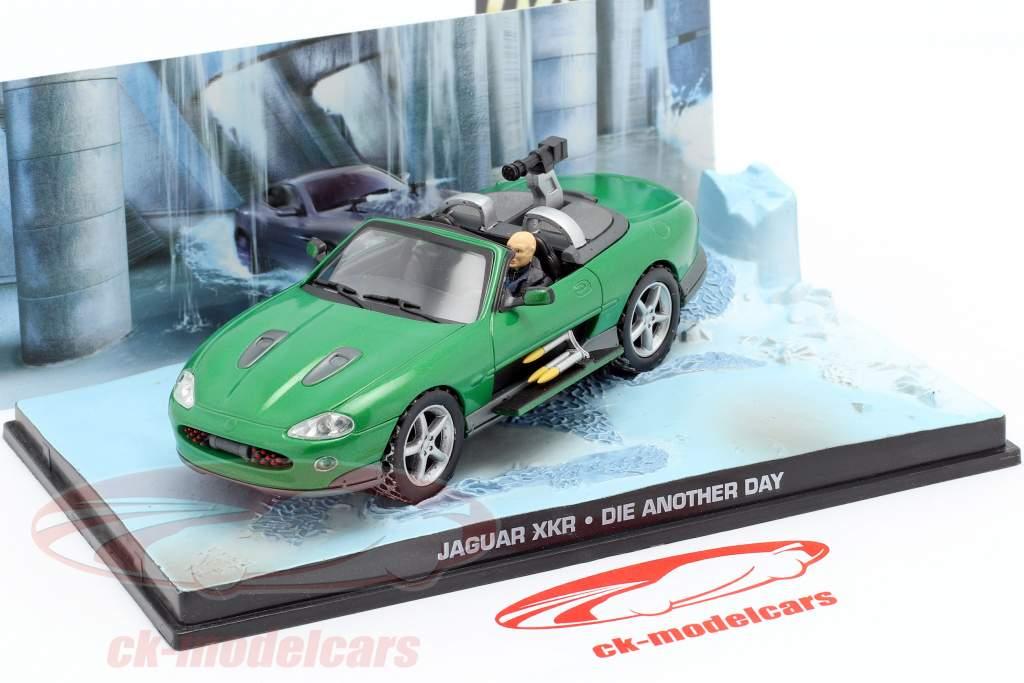Jaguar XKR James Bond Movie Car Stirb an einem anderen Tag grün 1:43 Ixo