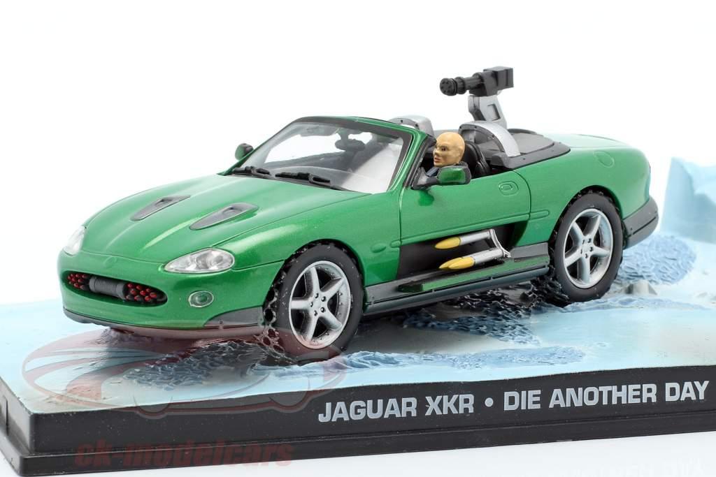 Jaguar XKR James filme de James Bond Die Another Day Car verde 1:43 Ixo
