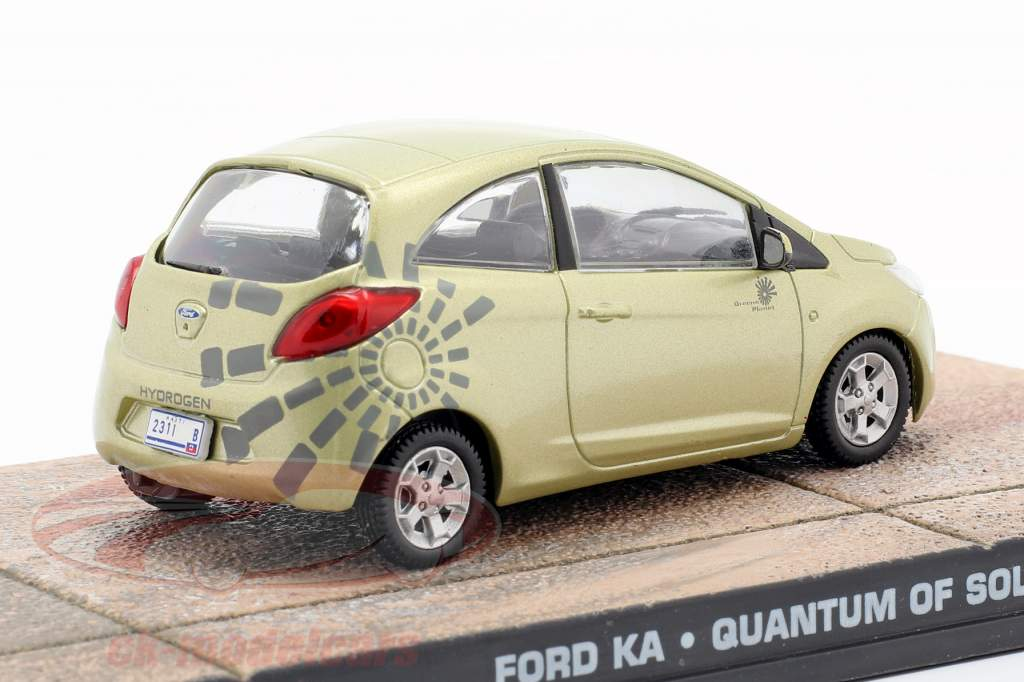 Ford Ka James Bond Quantum of Solace Film Car Ixo 1:43 or