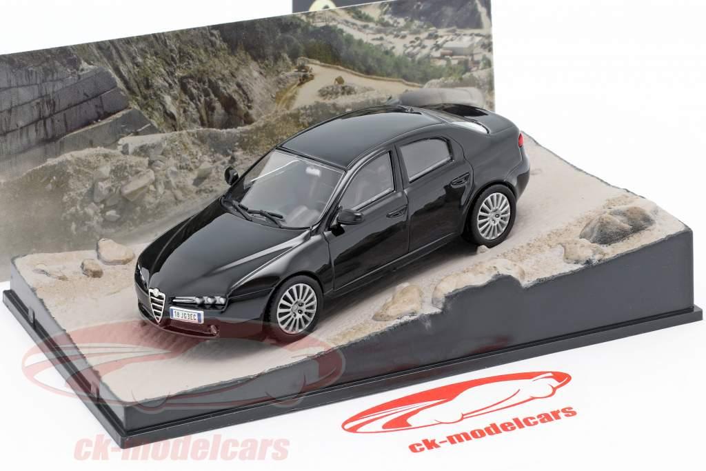 Alfa Romeo 159 James Bond film Quantum of Solace Car Black 1:43 Ixo