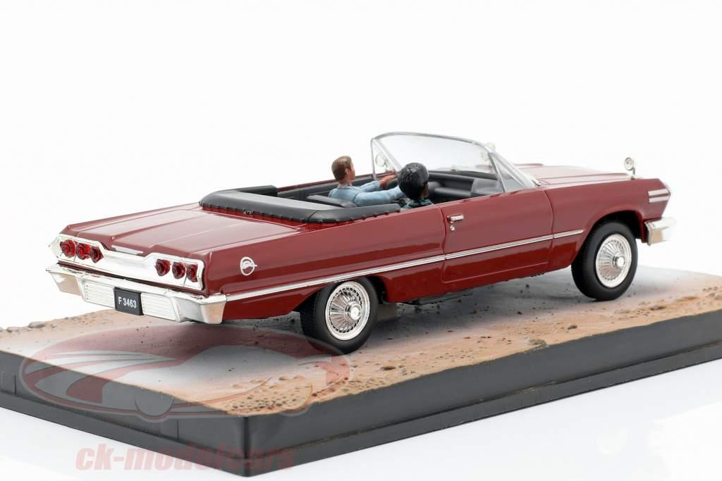 Chevrolet Impala filme de James Bond The Life and Death pode ser escuro 1:43 Ixo