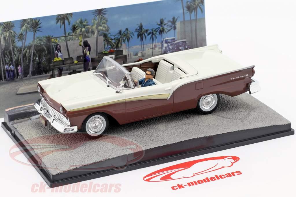 Ford Fairlane película del coche de James Bond Muere otro día una y cuarenta y tres Ixo