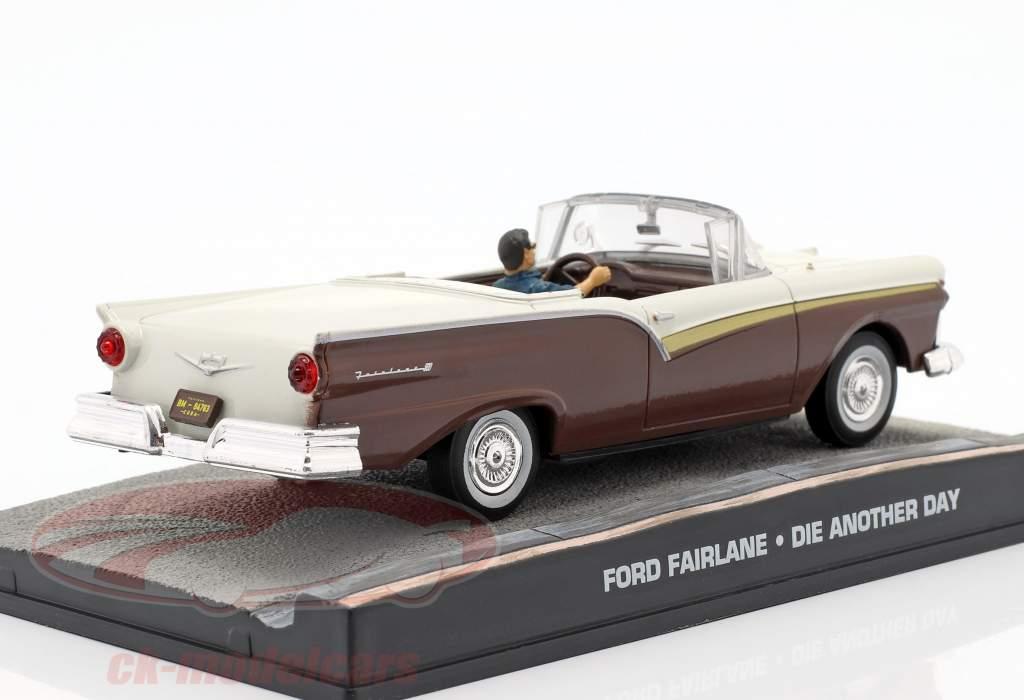 Voiture Ford Fairlane film de James Bond Meurs un autre jour 1:43 Ixo