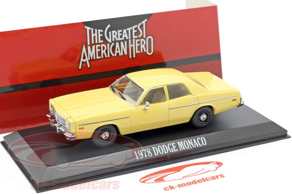 Dodge Monaco 1978 série de TV The Greatest American Hero (1981-83) 1:43 Greenlight