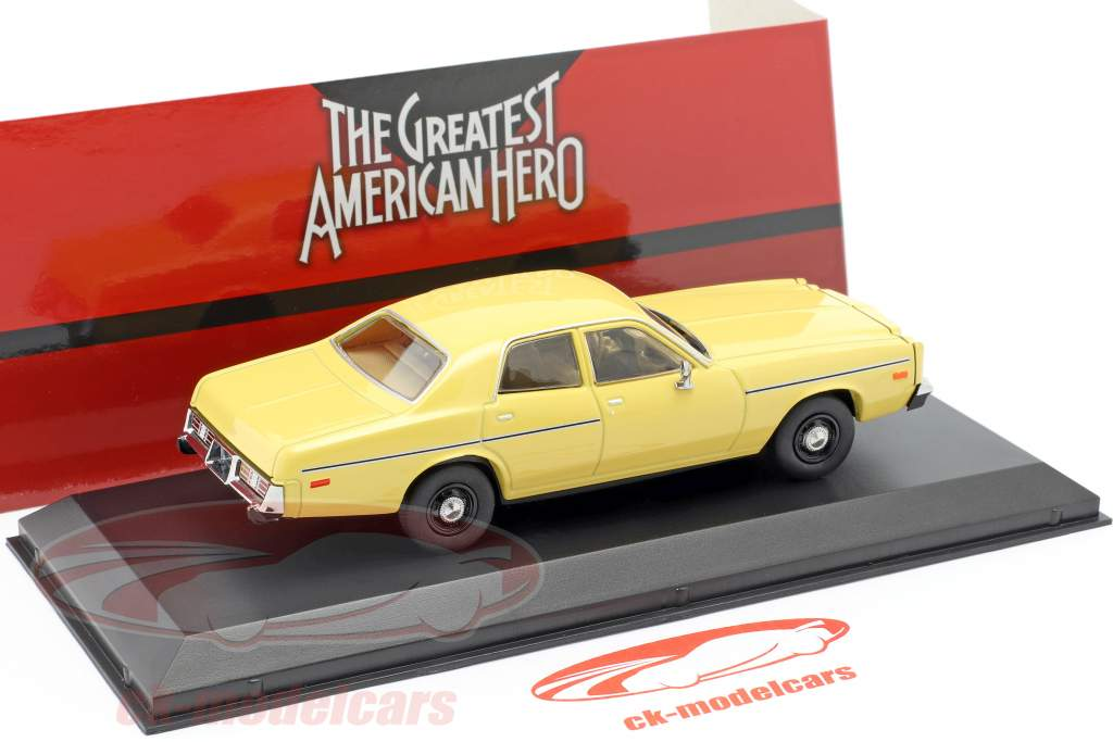 Dodge Monaco 1978 tv-serie The Greatest American Hero (1981-83) 1:43 Greenlight