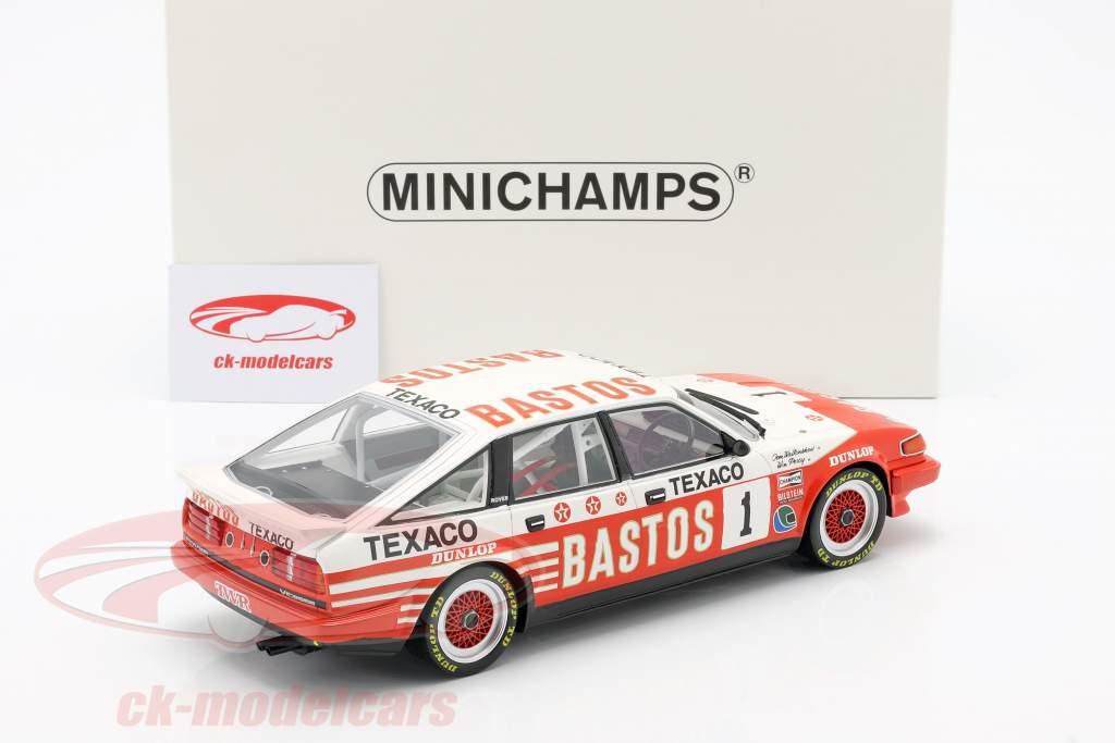 Rover Vitesse #1 ganador 500km Donington 1985 Walkinshaw, Percy 1:18 Minichamps