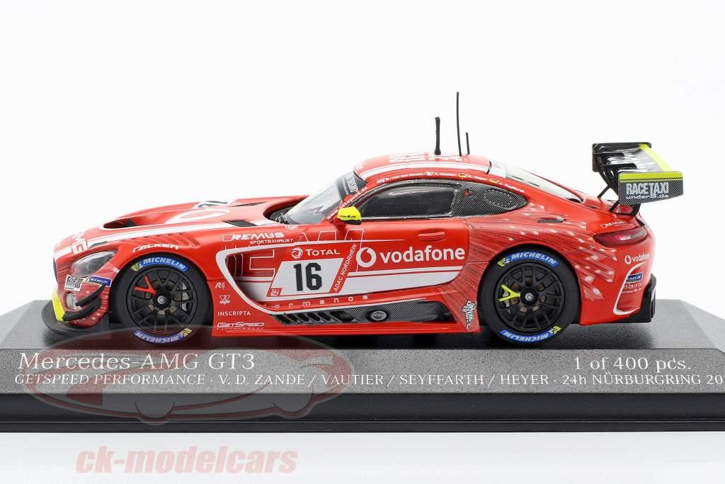 Mercedes-Benz AMG GT3 #16 24h Nürburgring 2019 GetSpeed Performance 1:43 Minichamps