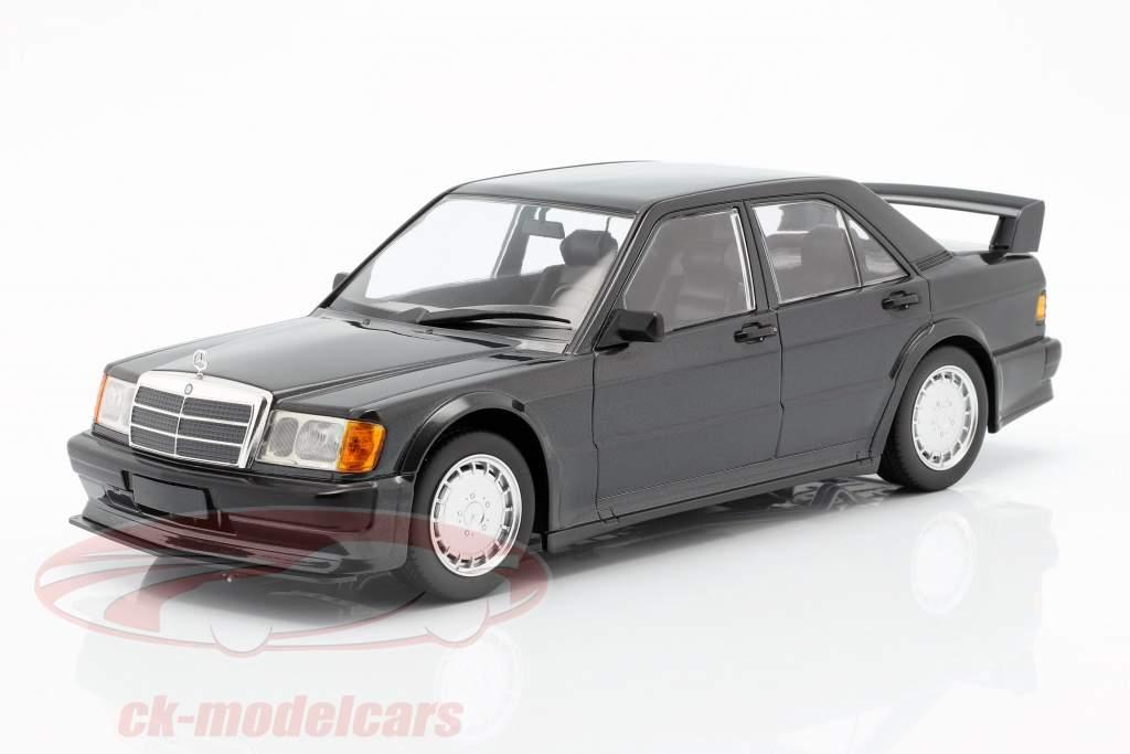 Mercedes-Benz 190E 2.5-16V Evo 1 1989 nero blu metallico 1:18 Minichamps