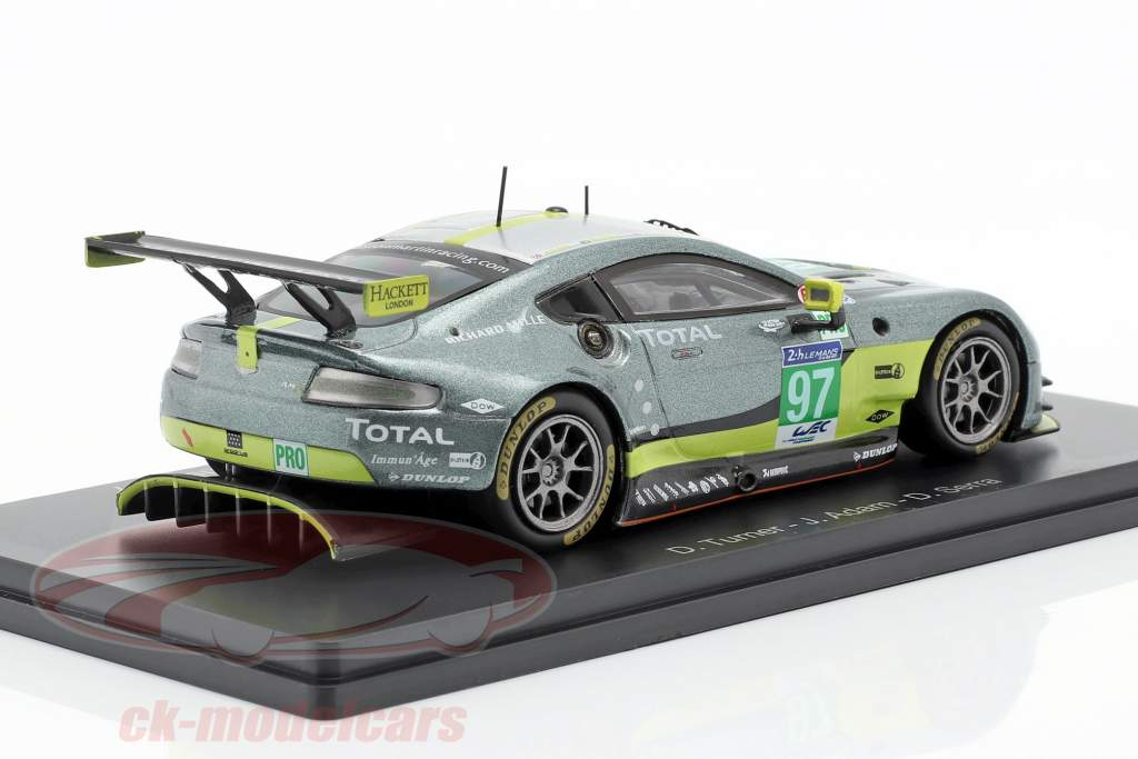 Aston Martin Vantage GTE #97 ganador LMGTE Pro Class 24h LeMans 2017 1:43 Spark