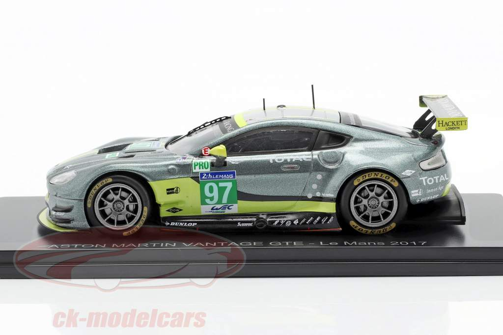 Aston Martin Vantage GTE #97 vencedor LMGTE Pro Class 24h LeMans 2017 1:43 Spark