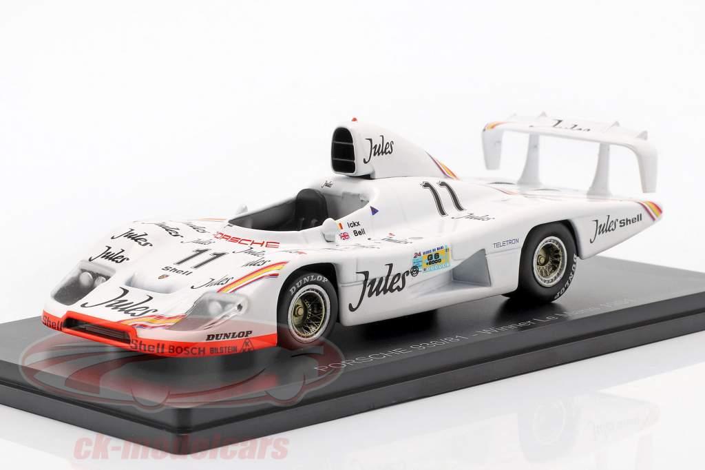 Porsche 936/81 #11 vincitore 24h LeMans 1981 Ickx, Bell 1:43 Spark