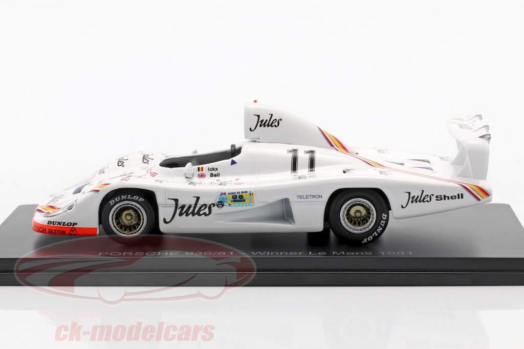Porsche 936/81 #11 ganador 24h LeMans 1981 Ickx, Bell 1:43 Spark