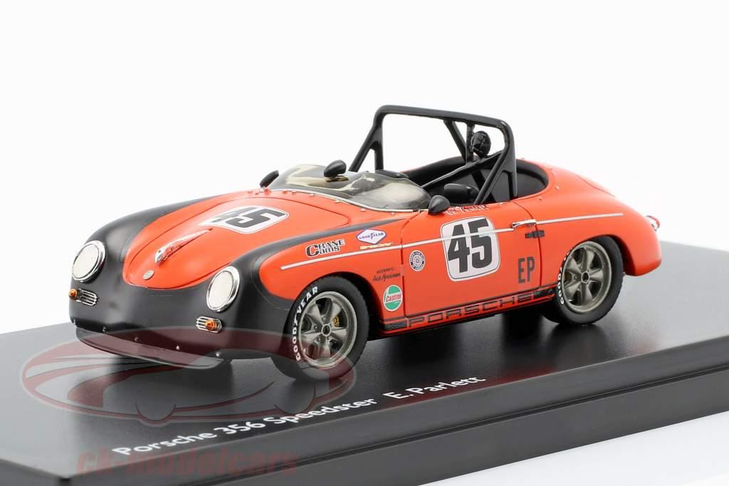 E. Parlett Porsche 356 Speedster #45 1:43 Schuco PRO.R 43